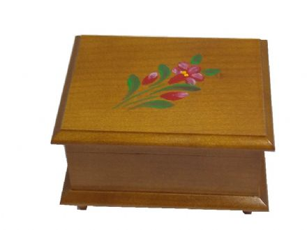 Jobin Alpine Rose Hand Painted Box 2084471